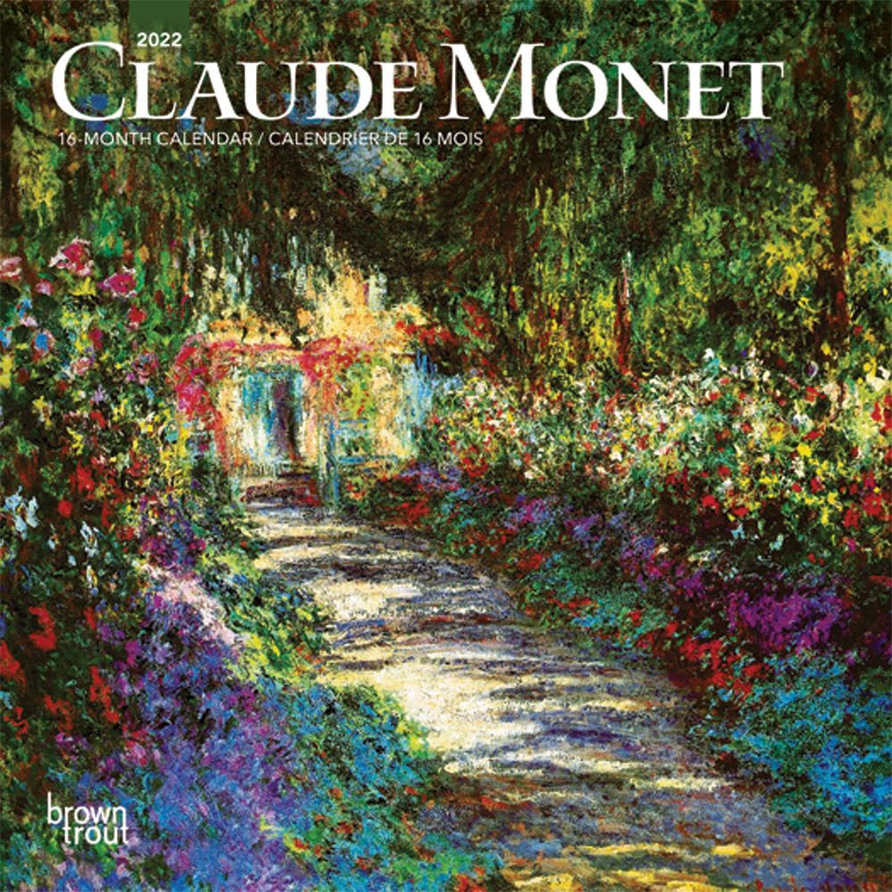 Claude Monet 2022 Mini Wall Calendar