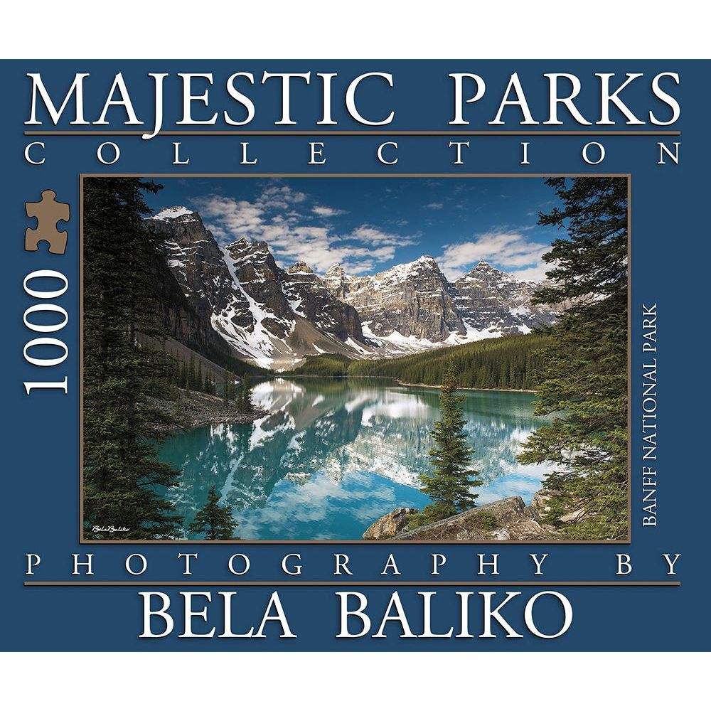 Best Majestic Parks Moraine Lake 2 1000pc Puzzle You Can Buy