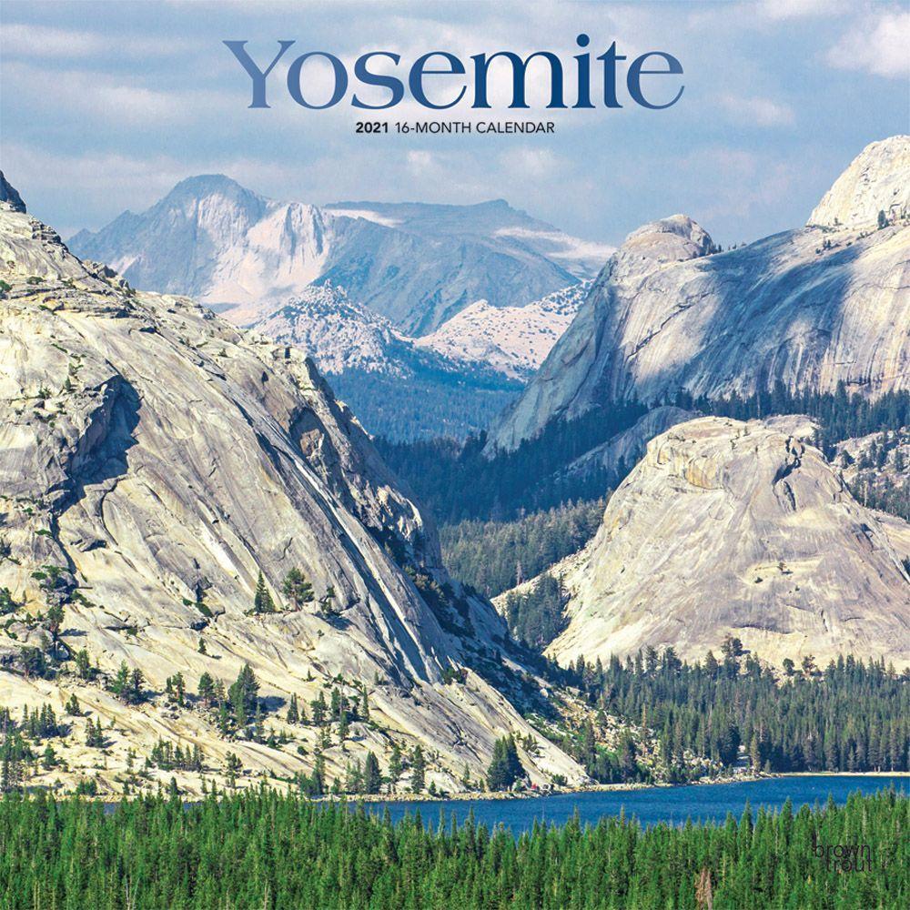 2021 Yosemite Wall Calendar