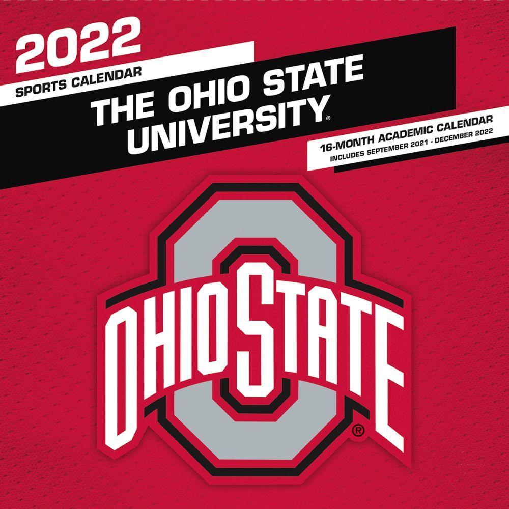 Ohio State University Buckeyes 2022 Wall Calendar