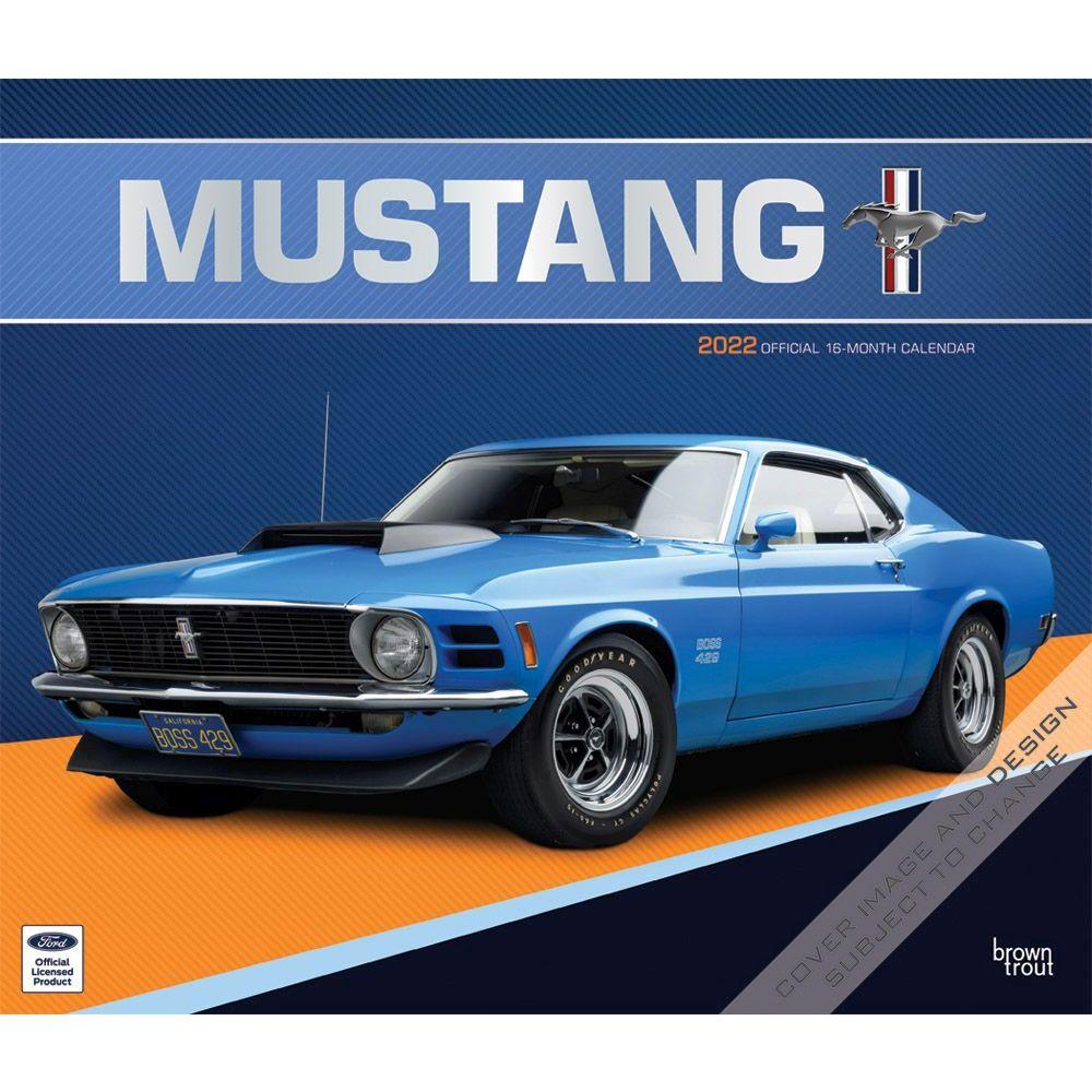 Mustang 2022 Wall Calendar