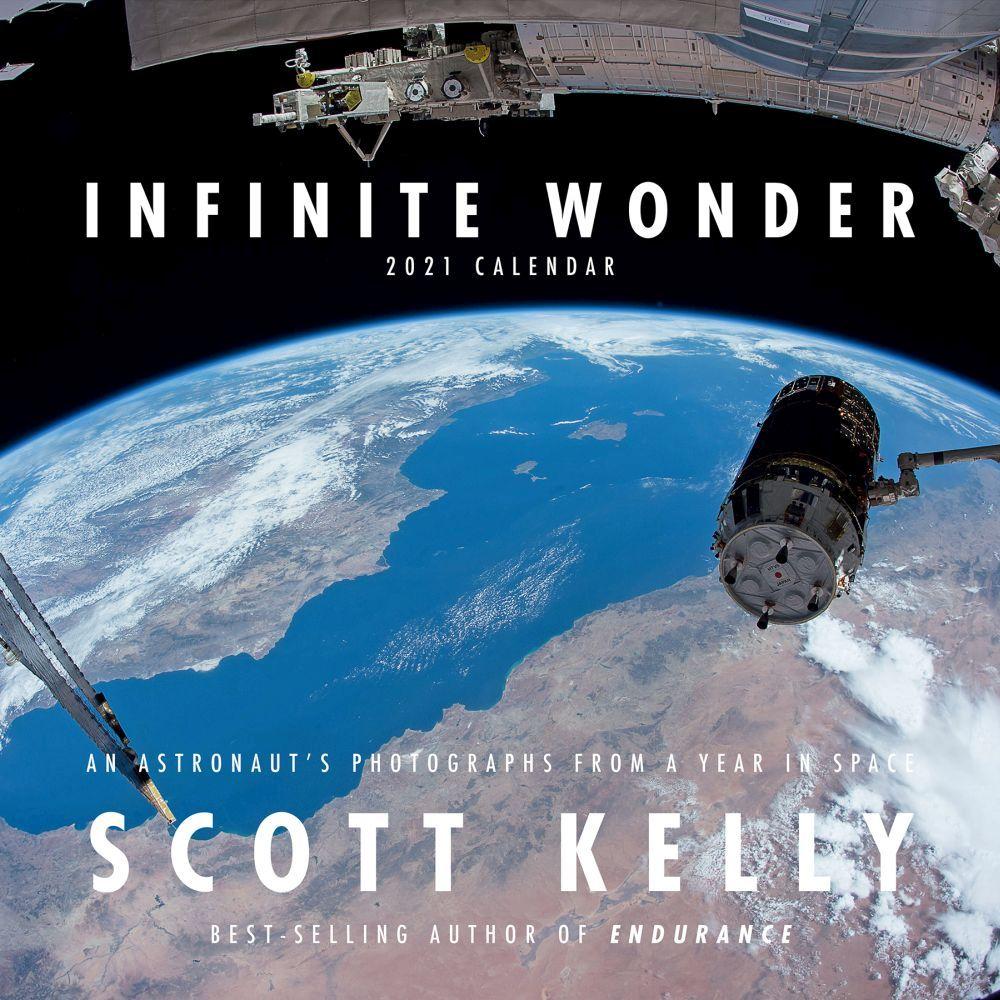 2021 Infinite Wonder by Scott Kelly Wall Calendar