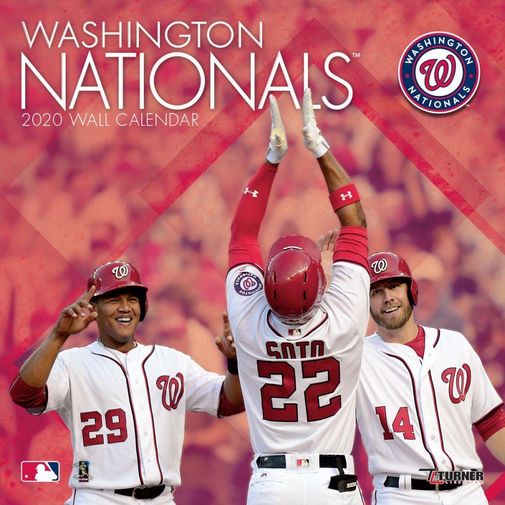 Washington Nationals 2021 Wall Calendar