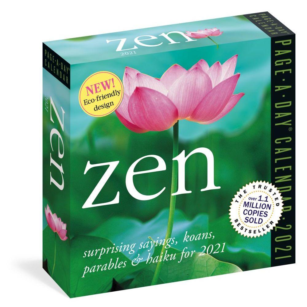 2021 Zen Desk Calendar