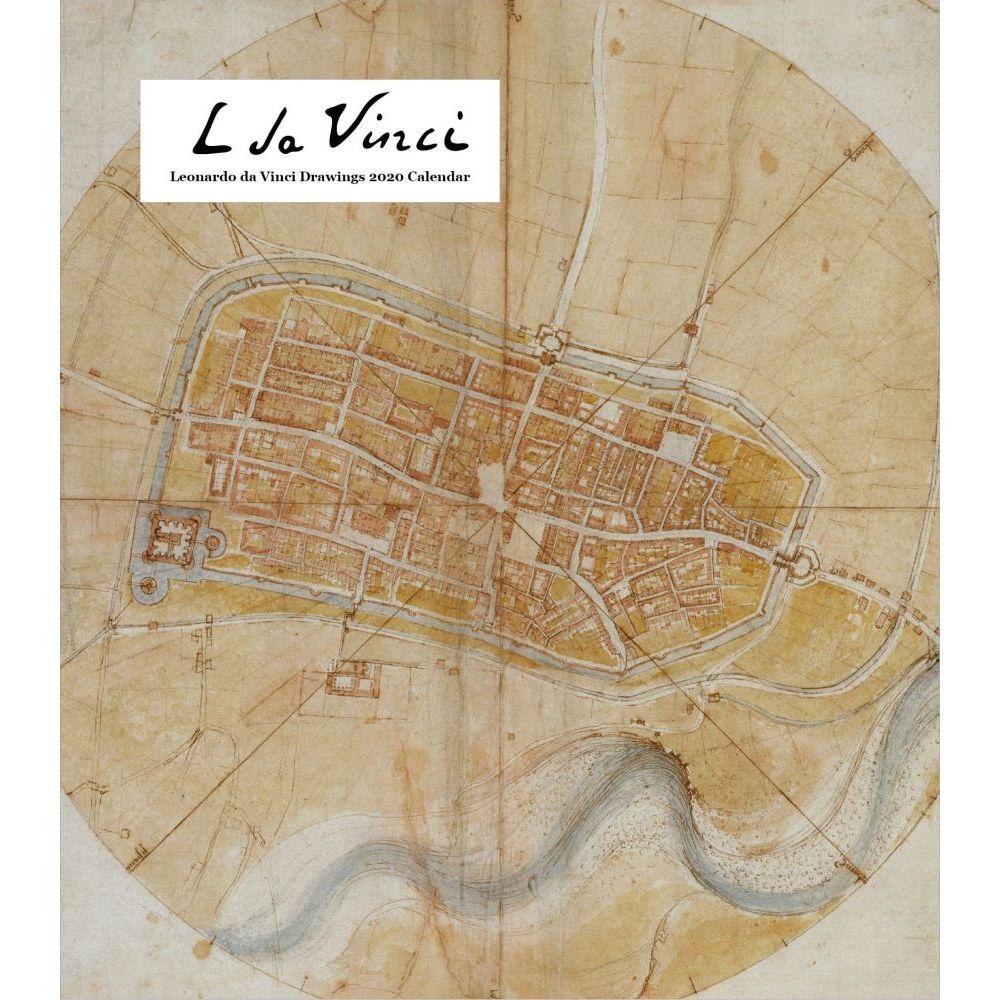 Leonardo Da Vinci Drawings 2021 Easel Calendar