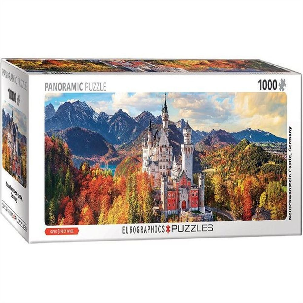 Neuschwanstein-Castle-Fall-1000pc-Panoramic-Puzzle-2
