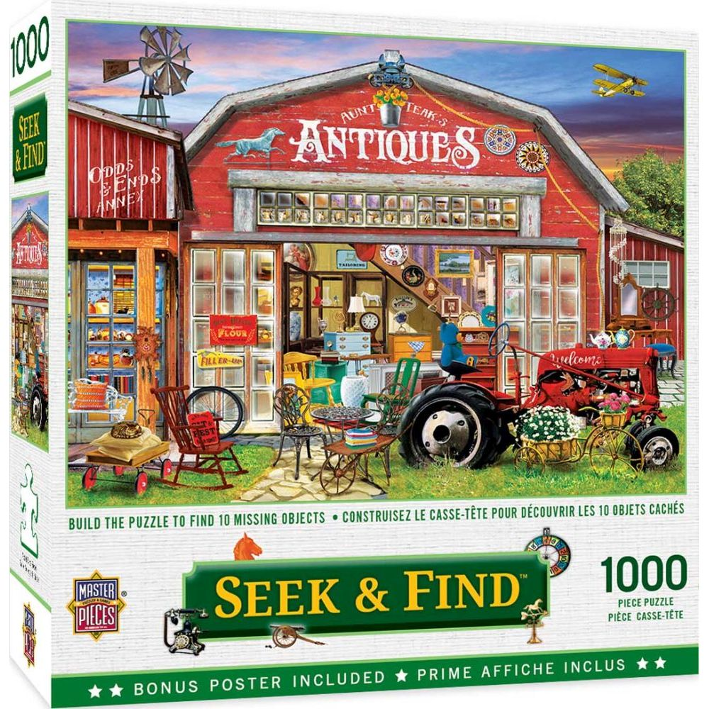 Best Antiques for Sale 1000pc Puzzle You Can Buy