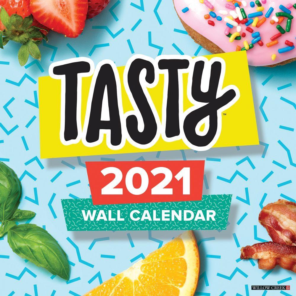 2021 Tasty Wall Calendar