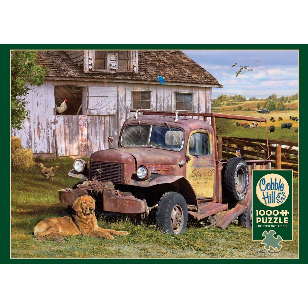 Best Summer Truck 1000pc Puzzle You Can Buy