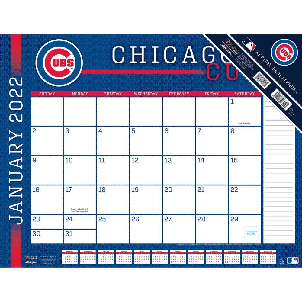 Chicago Cubs 2022 Desk Pad