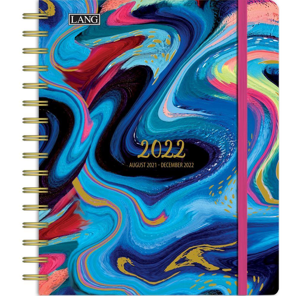 Brush Strokes 2022 Deluxe Planner