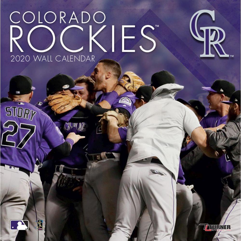 Colorado Rockies 2021 Wall Calendar