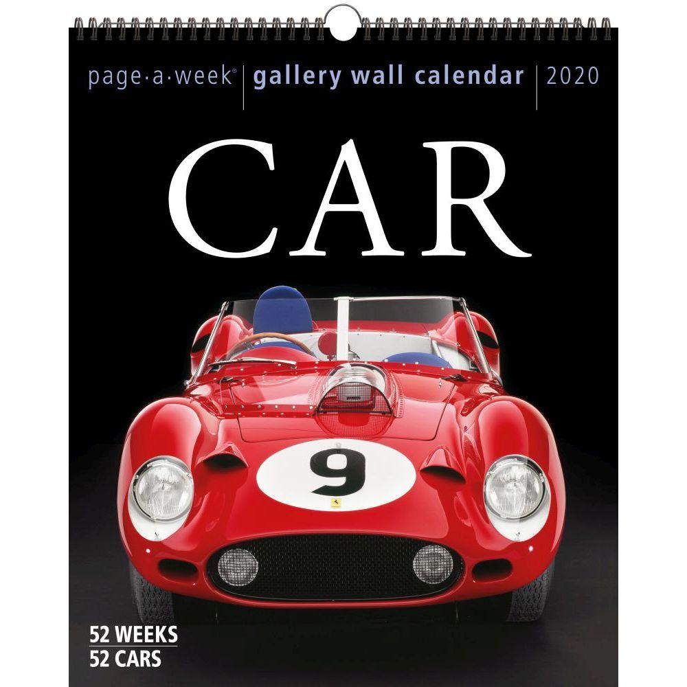 Car Page-A-Week Gallery Wall 2021 Calendar