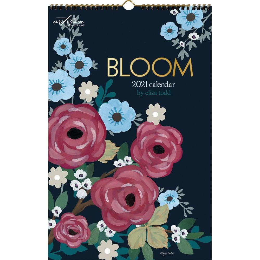 2021 Bloom Poster Calendar by Eliza Todd