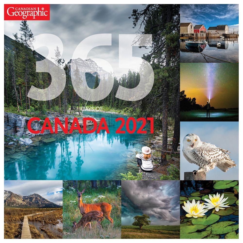 2021 365 Days of Canada Wall Calendar