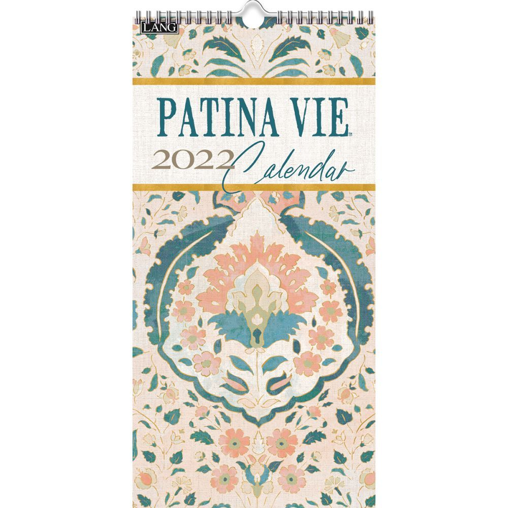 Patina Vie 2022 Vertical Wall Calendar