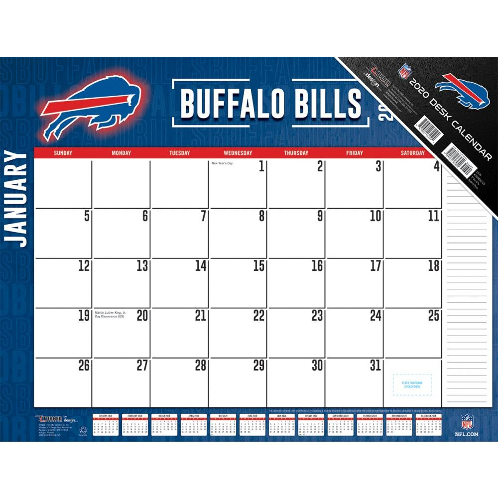 Buffalo Bills 2021 Desk Pad