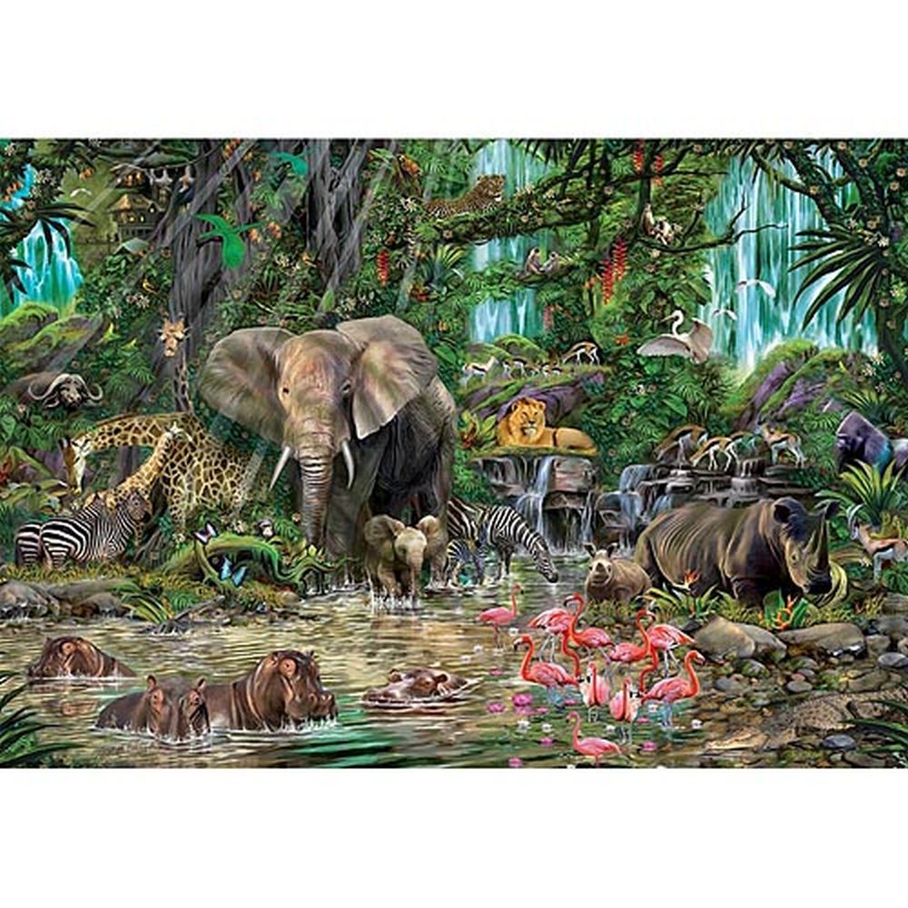 Jungle   Puzzle   Piece   2000