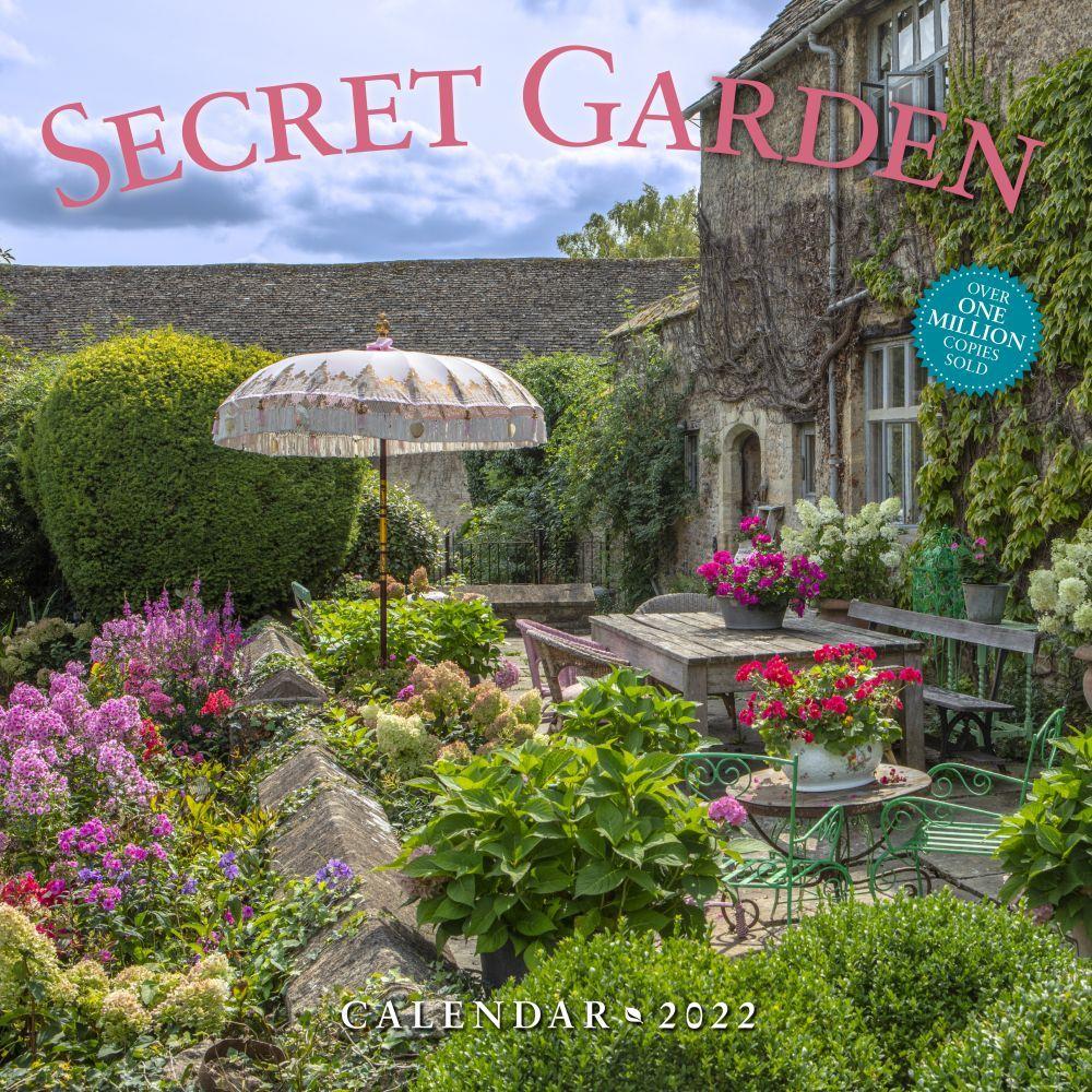 The Secret Garden 2022 Wall Calendar