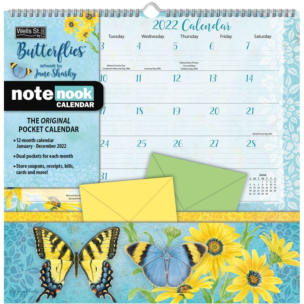Butterflies 2022 Note Nook