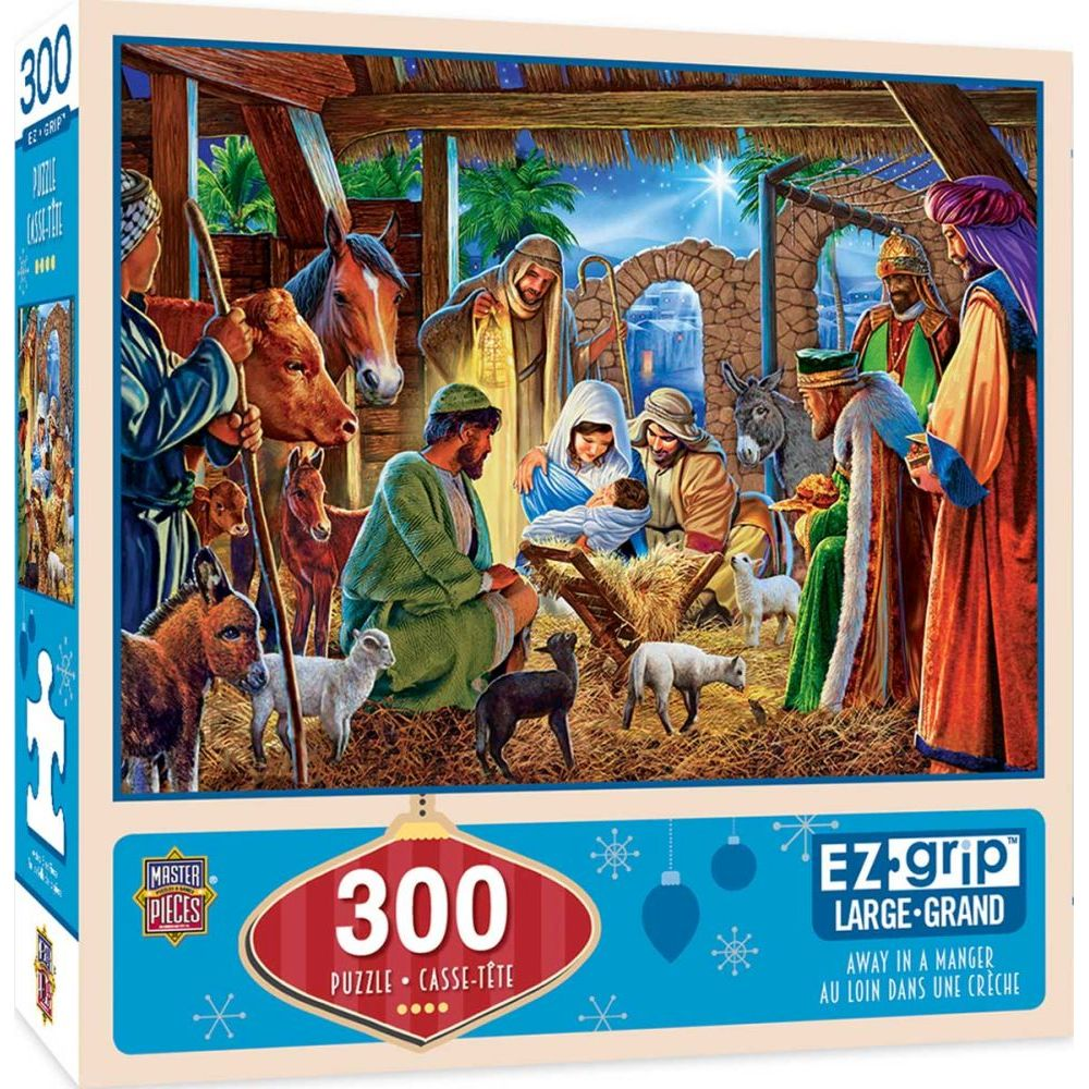 Best Away in a Manger 300pc Puzzle You Can Buy