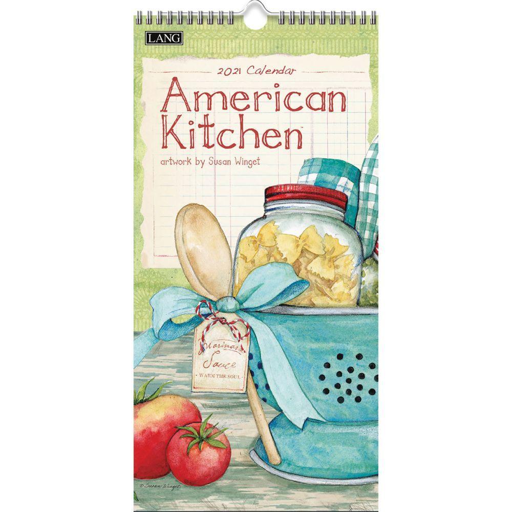 2021 American Kitchen Vertical Wall Calendar by Susan Winget