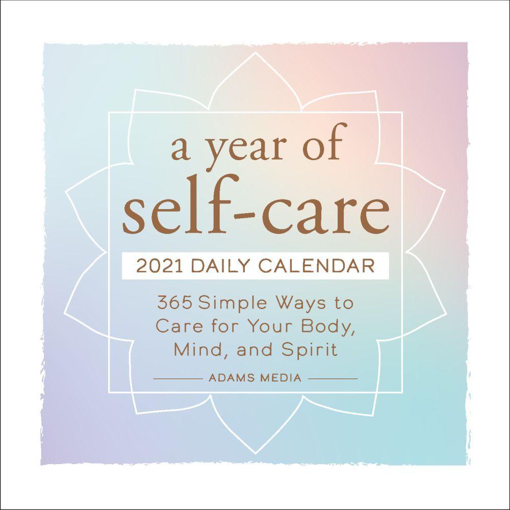 2021 Year of Self-Care Desk Calendar
