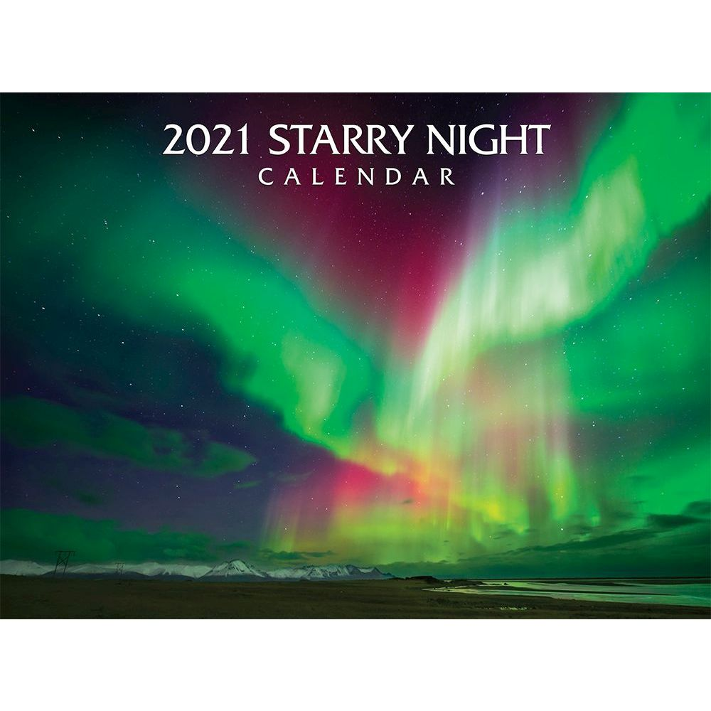 2021 Starry Nights Wall Calendar