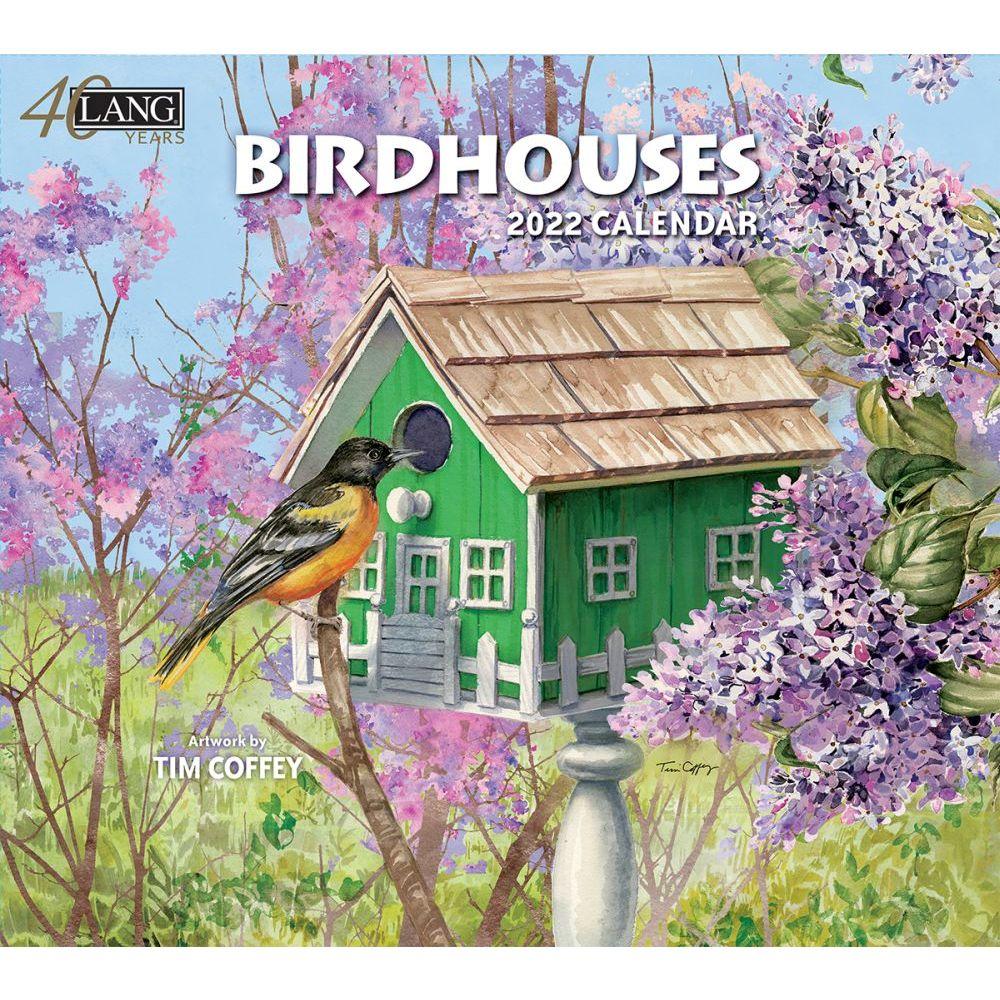 Birdhouses 2022 Wall Calendar