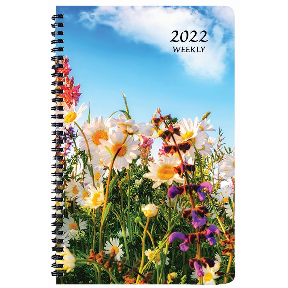 Floral 2022 Weekly Appointment Planner