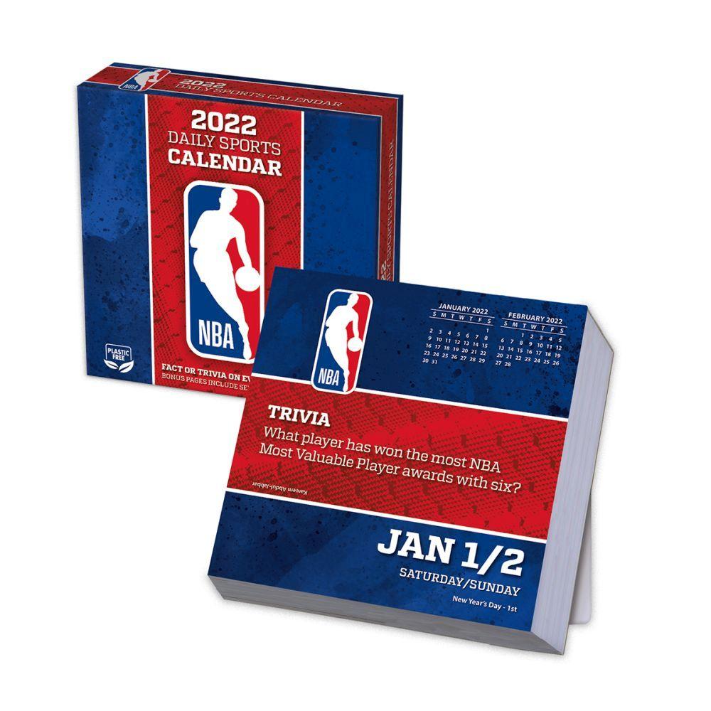 NBA All Team 2022 Desk Calendar