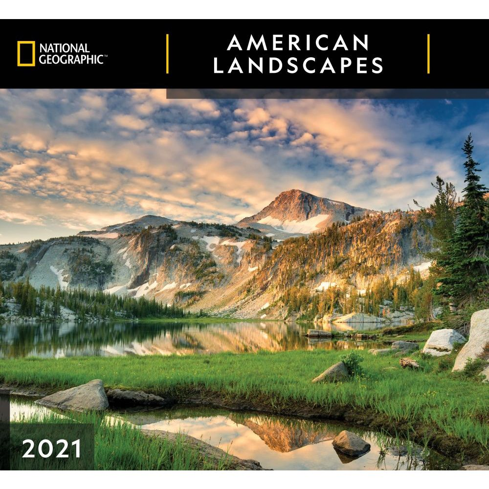 2021 American Landscapes National Geographic Wall Calendar