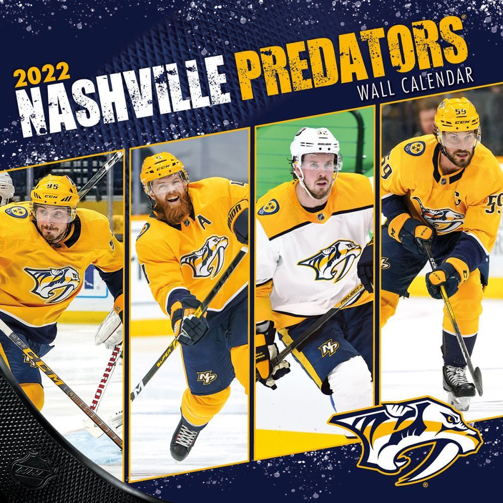 Nashville Predators 2022 Wall Calendar