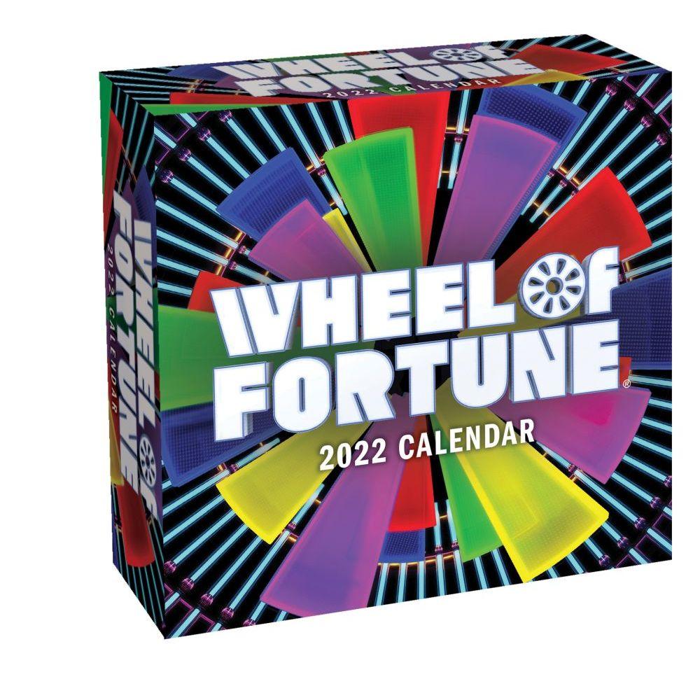 Wheel of Fortune 2022 Wall Calendar