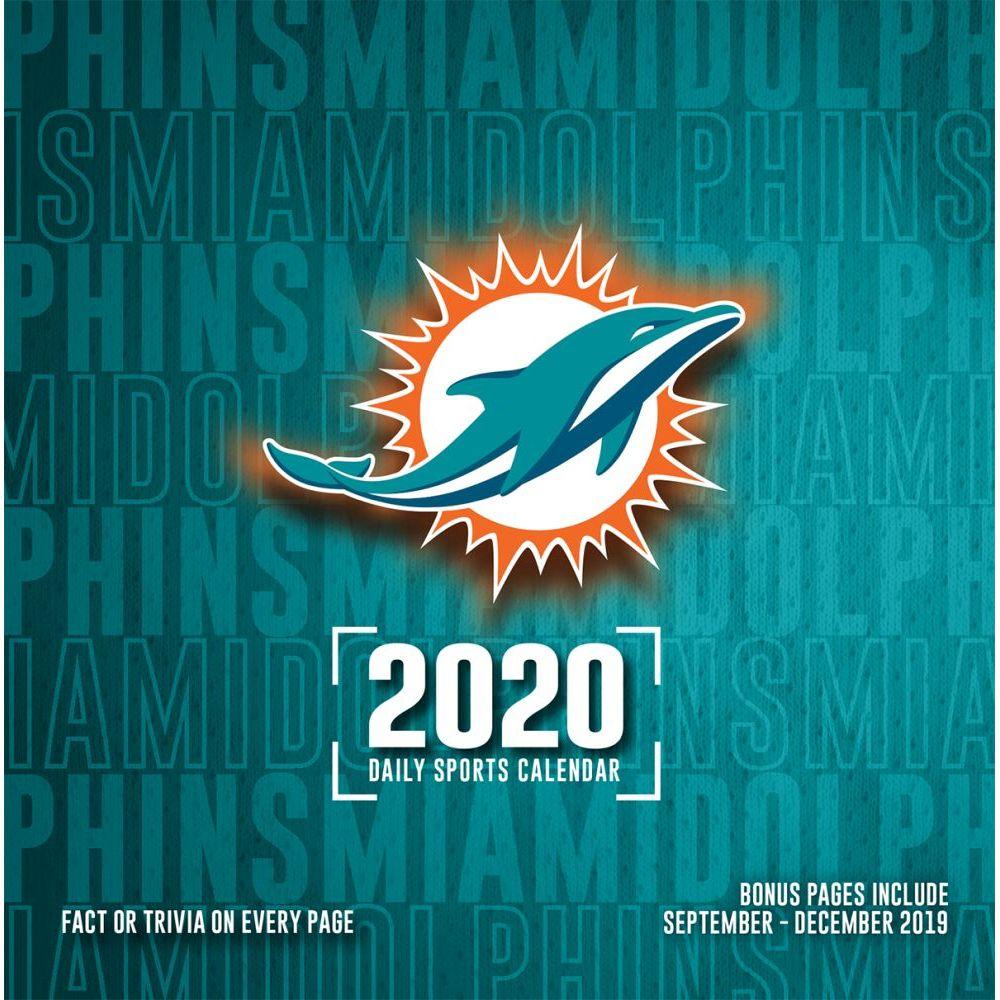 Miami Dolphins 2021 Desk Calendar