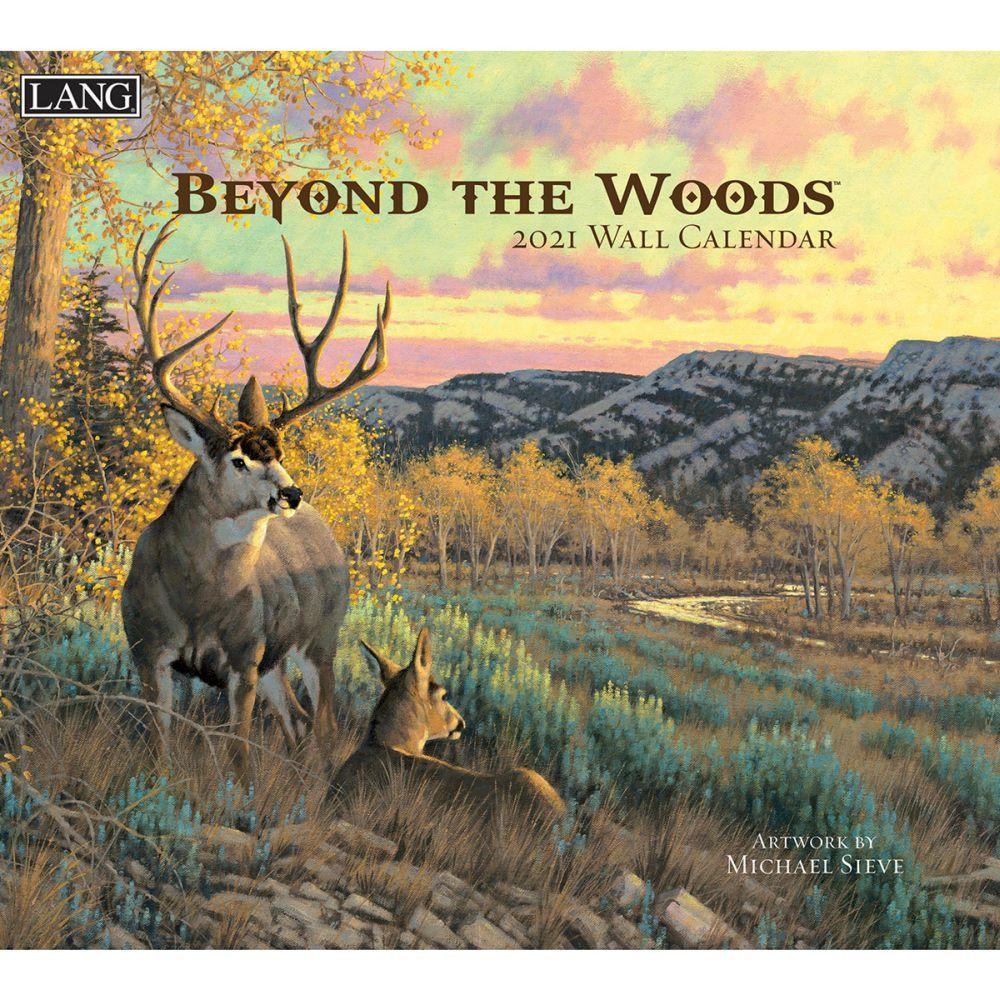 2021 Beyond the Woods Wall Calendar by Michael Sieve