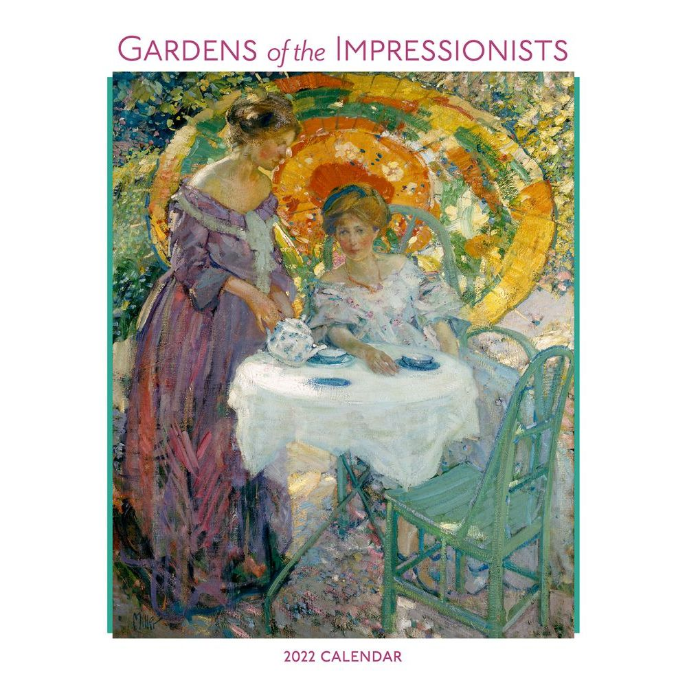 Gardens of the Impressionists 2022 Wall Calendar