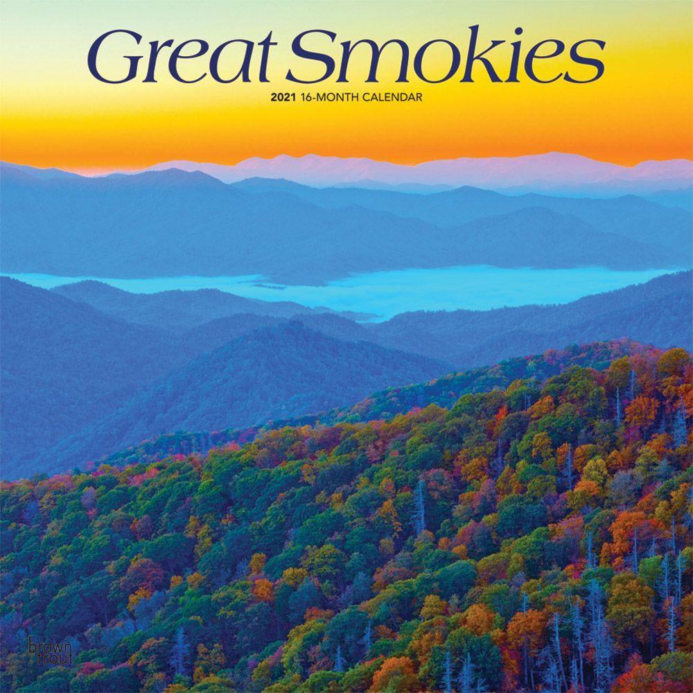 2021 Great Smokies Wall Calendar