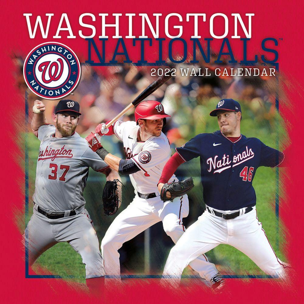 Washington Nationals 2022 Wall Calendar