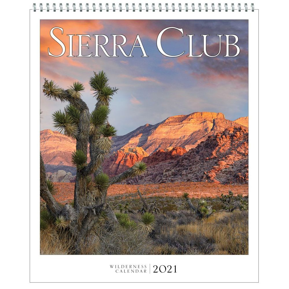 2021 Sierra Club Wall Calendar