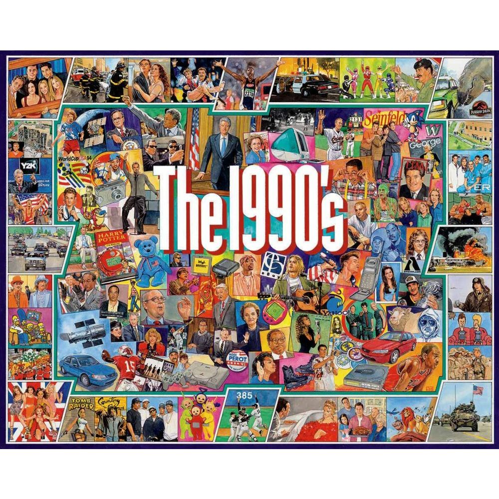 Best The Nineties 1000 Piece Puzzle You Can Buy