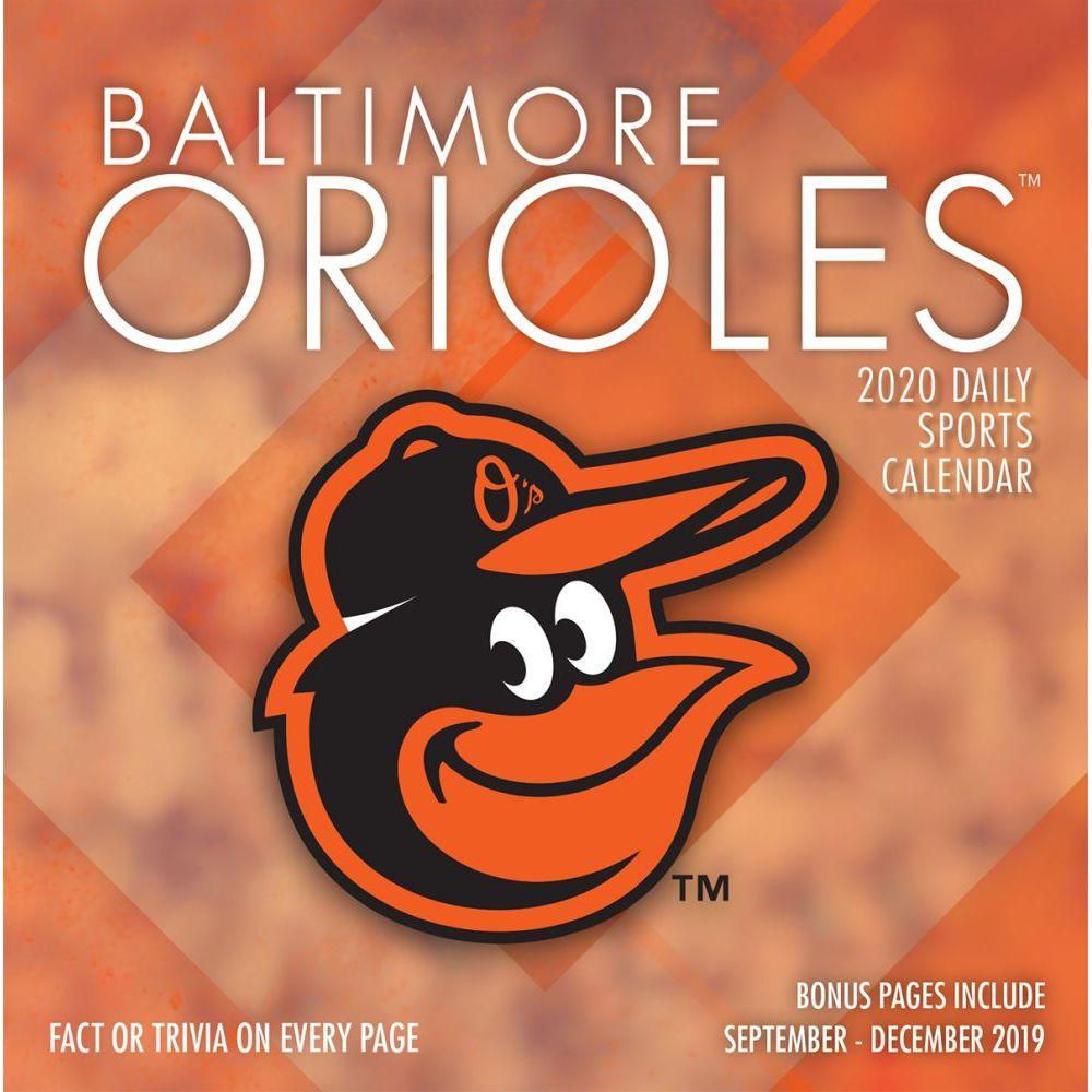Baltimore Orioles 2021 Desk Calendar