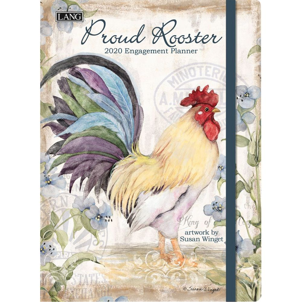 Lang Proud Rooster 2019 Classic Engagement Planner Appointment Planner 19991017027