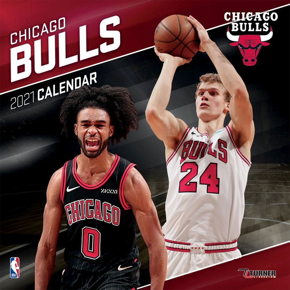 2021 Chicago Bulls Team Wall Calendar