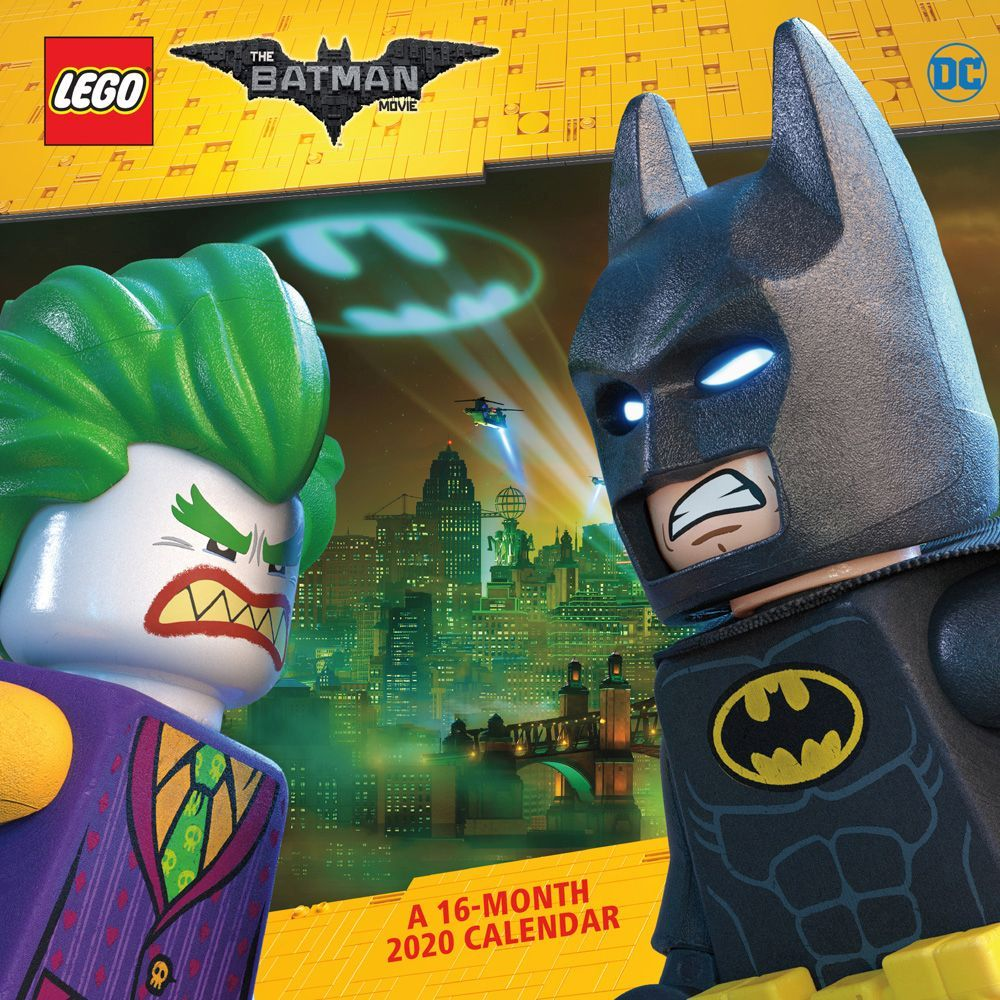 The Lego Batman Movie Wall Calendar Calendars Com