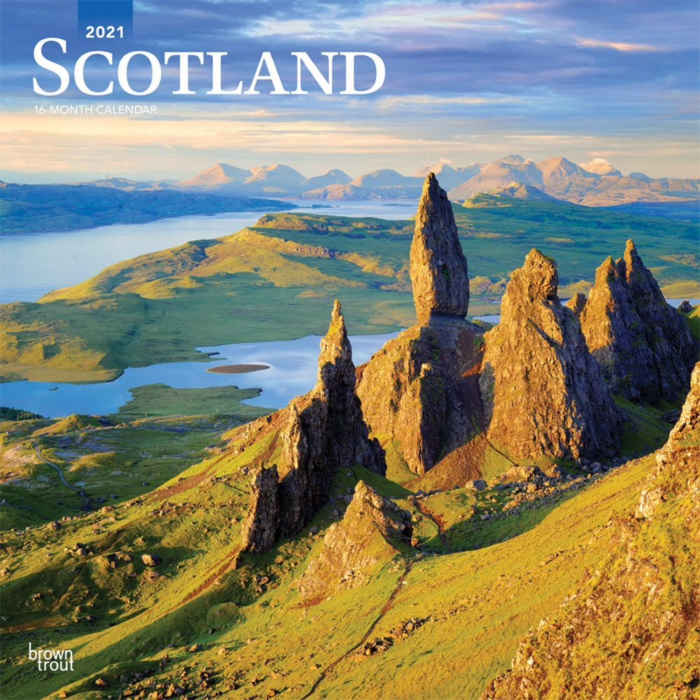 2021 Scotland Wall Calendar