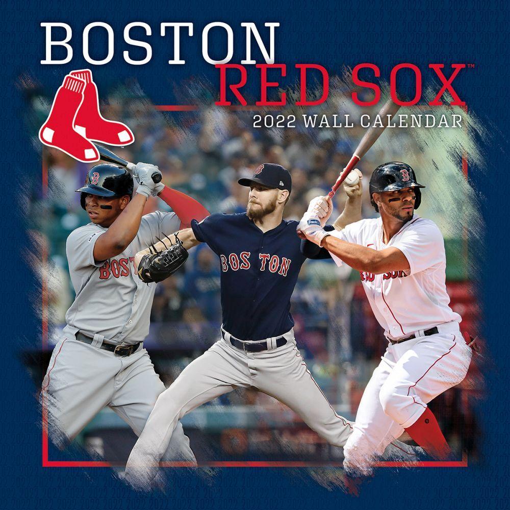 Boston Red Sox 2022 Wall Calendar