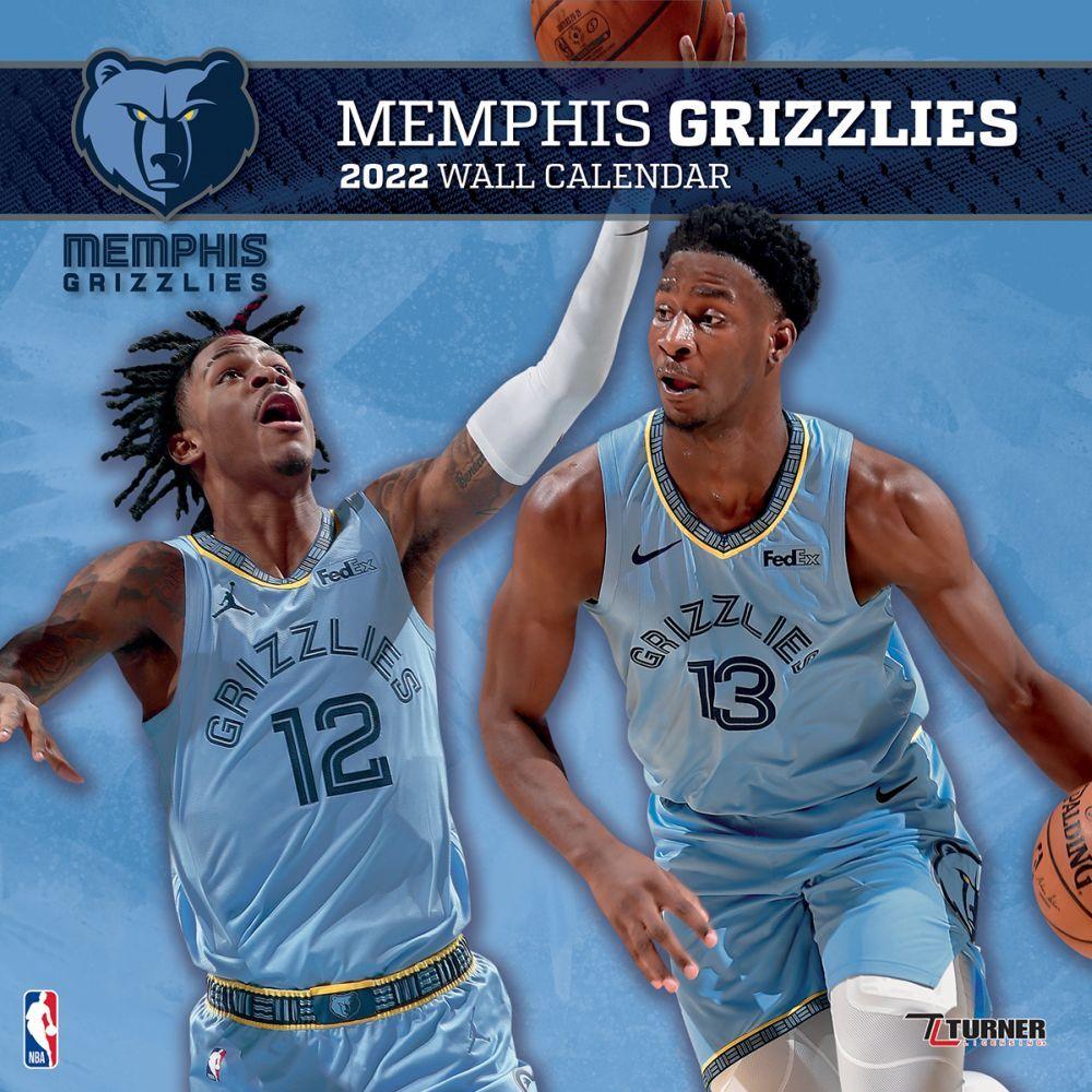 Memphis Grizzlies 2022 Wall Calendar