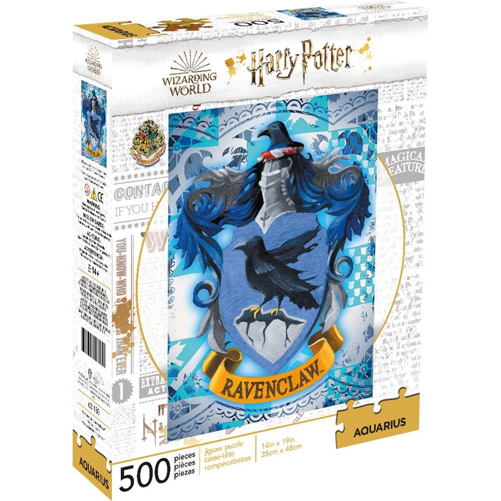 Best Harry Potter Ravenclaw 500pc Puzzle You Can Buy