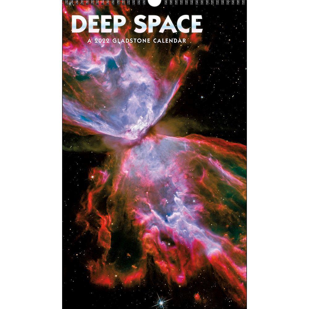 Deep Space Poster 2022 Wall Calendar